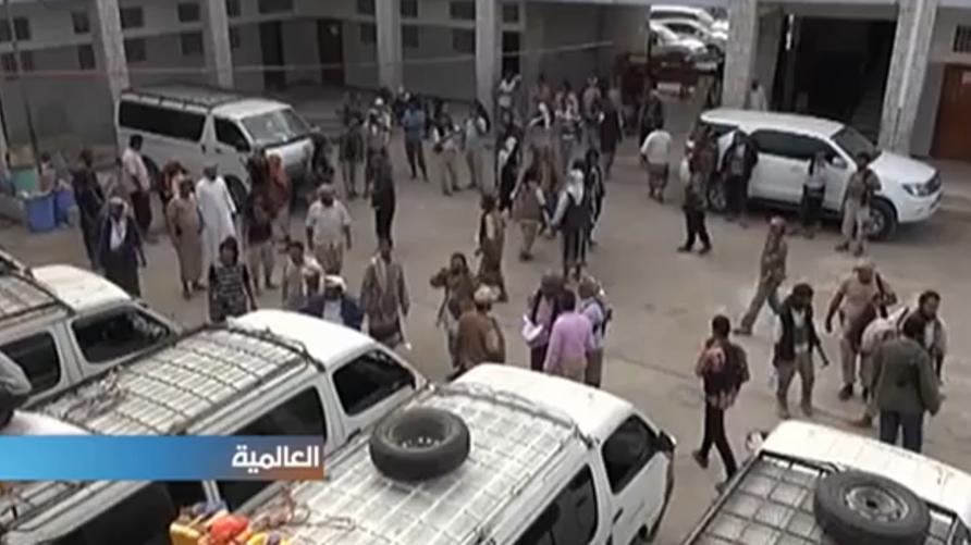 تبادل الأسرى بين الحوثيين والجنوبيين