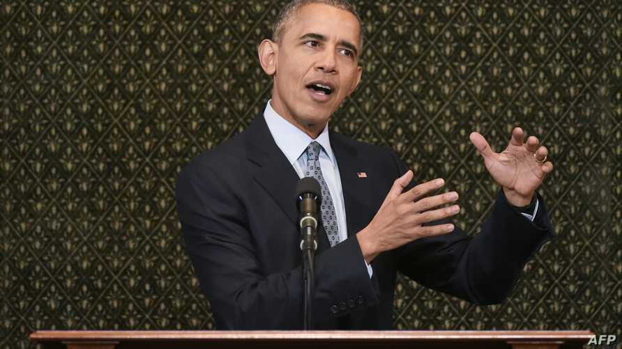 الرئيس السابق باراك أوباما