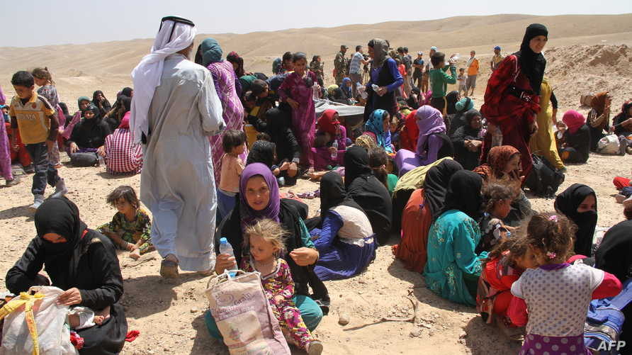 نازحون عراقيون في كركوك