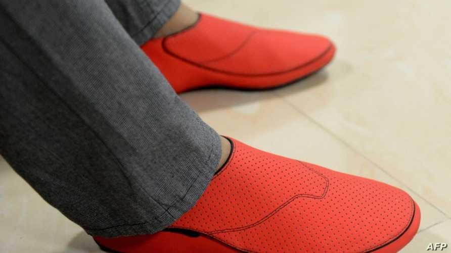 """حذاء """"ليشال"""" الذكي"""
