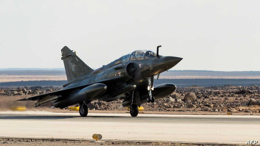 طائرة عسكرية تابعة لسلاح الجو الأردني
