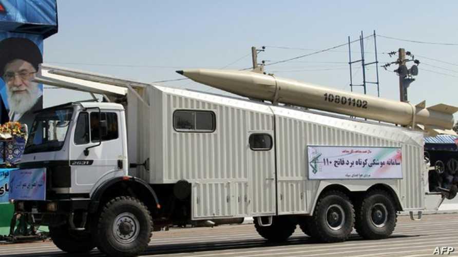 صاروخ فاتح-110 الإيراني