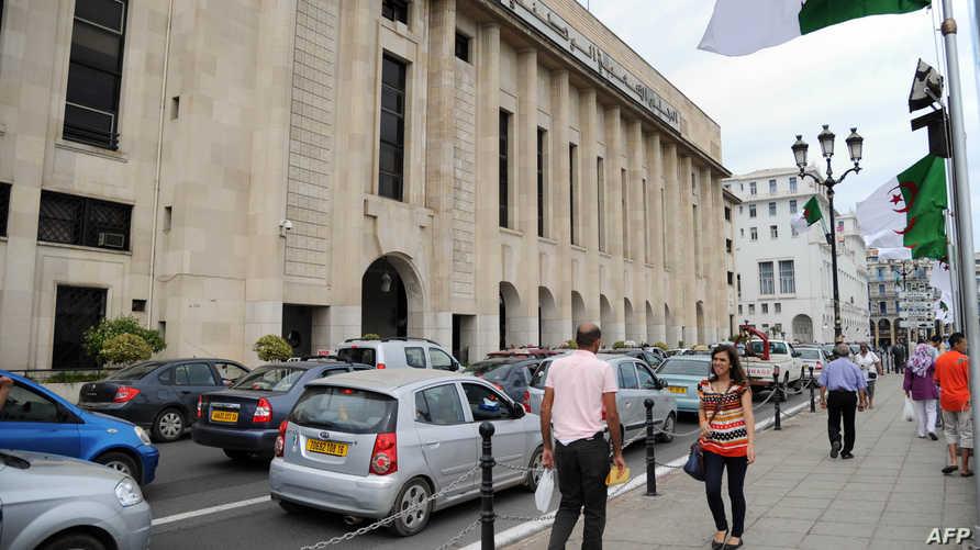 جانب من مبنى البرلمان الجزائري