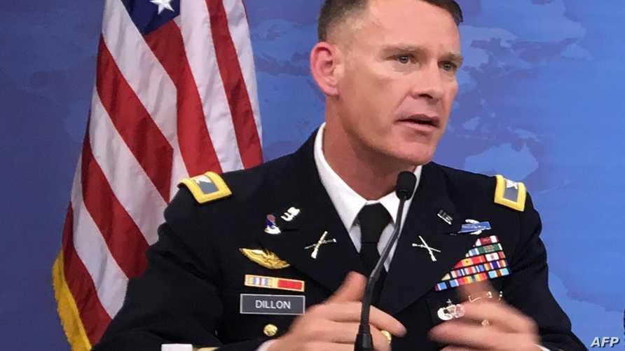 المتحدث باسم عمليات التحالف الدولي ضد داعش الكولونيل راين ديلون