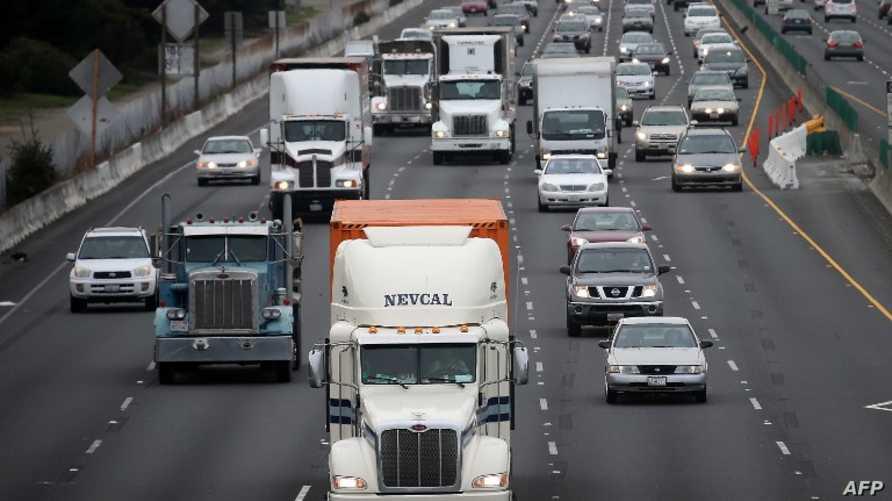 طريق في مدينة بيركلي بكالفورنيا