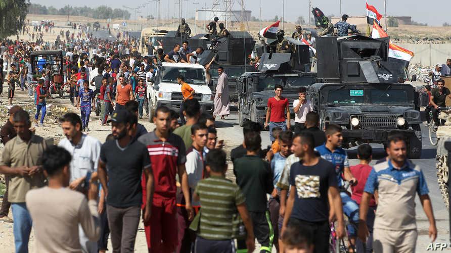 القوات العراقية بدأت عملياتها الأحد في كركوك