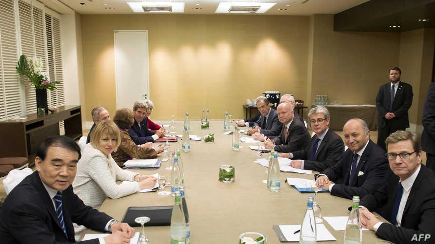 جزء من مفاوضات جنيف حول النووي الإيراني