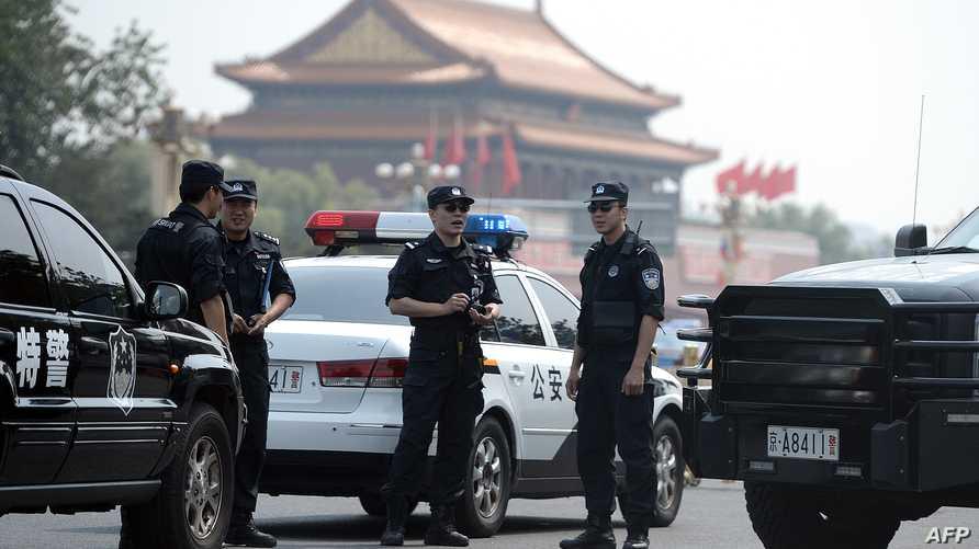 قوات أمن صينية_ أرشيف