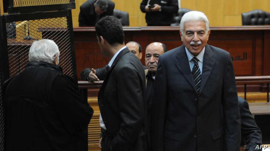 رئيس الوزراء المصري الأسبق أحمد نظيف