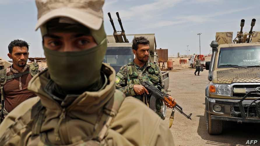 قوات سورية الديمقراطية - أرشيف