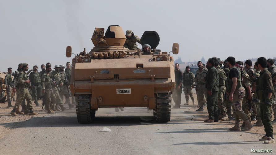 مقاتلون موالون لأنقرة في شمالي سوريا