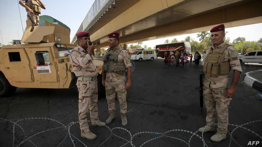 قوات عراقية في بغداد