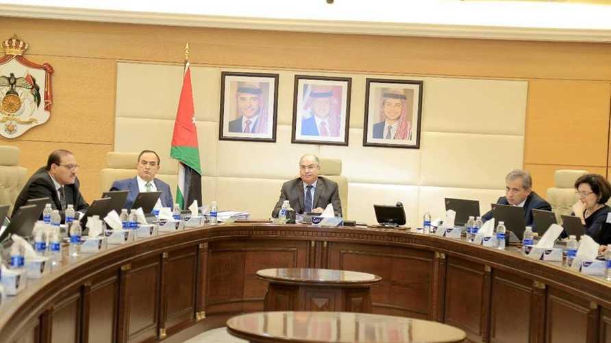 اجتماع لمجلس الوزراء الأردني - أرشيف