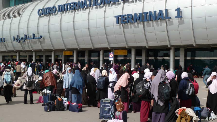 مطار القاهرة- أرشيف