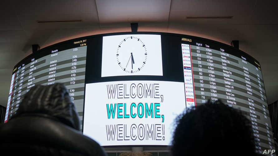في مطار جي أف كنيدي بنيويورك