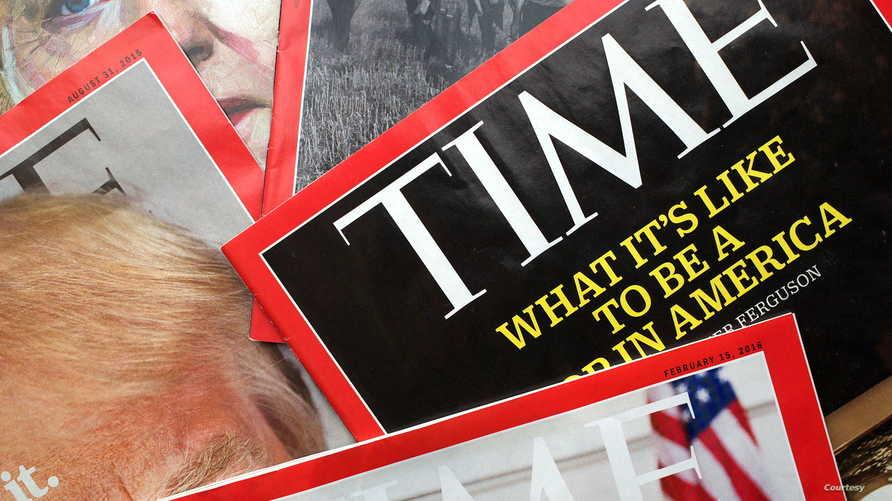 أعداد من مجلة تايم