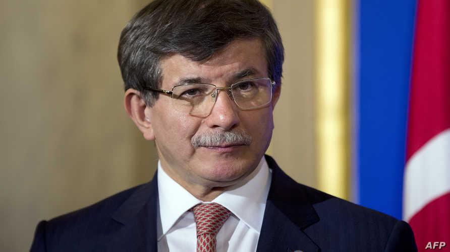 وزير الخارجية التركي أحمد داود أوغلو