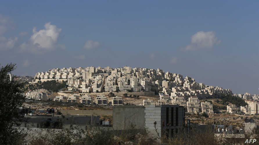 جانب من مستوطنة إسرائيلية في القدس الشرقية