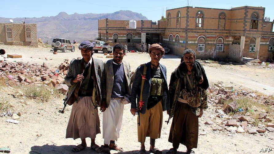 مسلحون حوثيون في العاصمة صنعاء