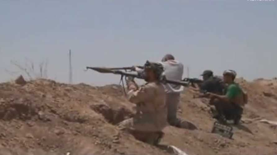 قوات متمركزة جنوب كركوك تتصدى لتنظيم داعش