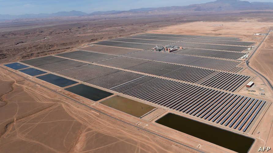 """محطة """"نور 1"""" للطاقة الشمسية بالمغرب"""
