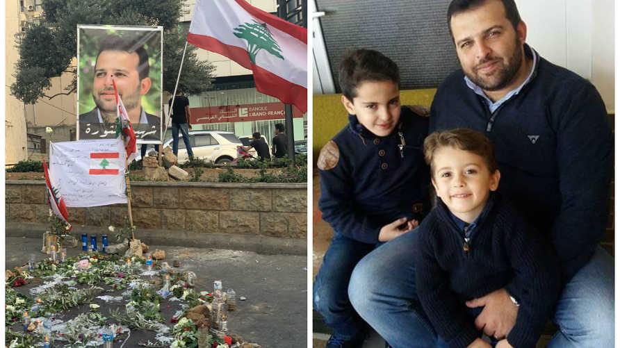 علاء أبو فخر - ثاني شهداء الثورة اللبنانية بعدما قضى نحبه برصاصة في الرأس أطلقها جندي بالجيش
