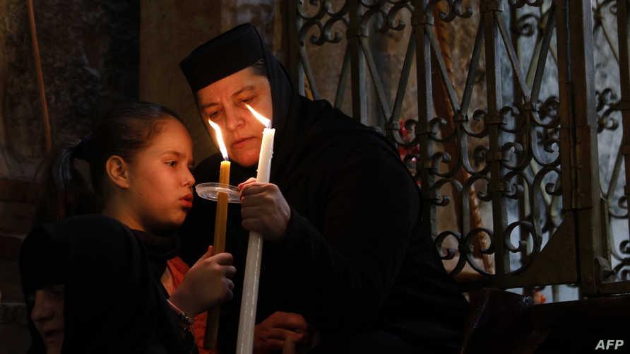 إحياء عيد الفصح في القدس