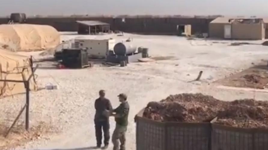 فيديو يرصد قوات روسية في قاعدة أميركية مهجورة في شمال سوريا