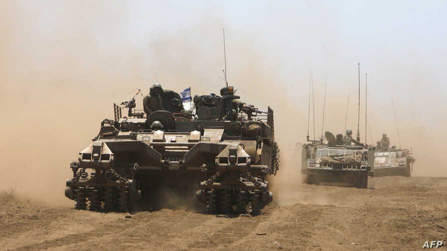 قوات إسرائيلية قرب الجولان