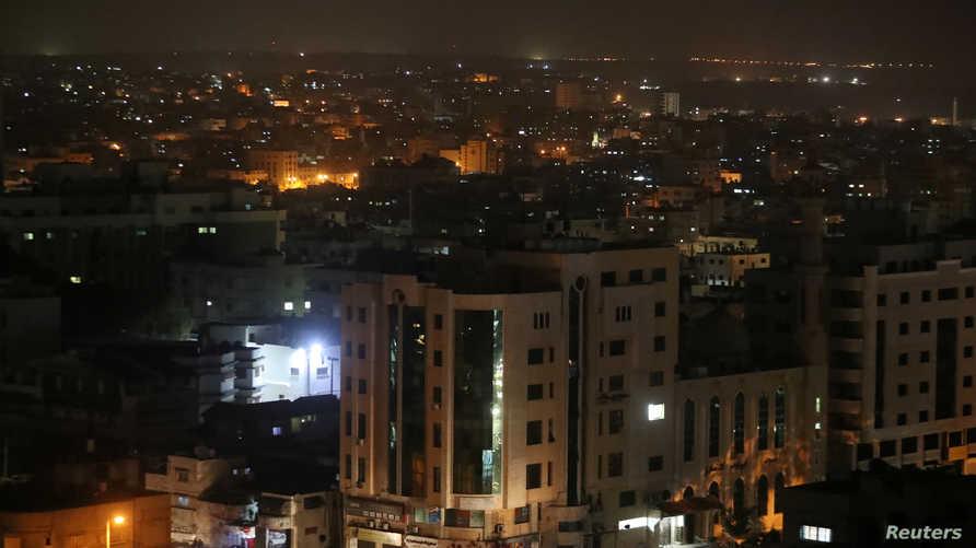 مشهد عام لمدينة غزة في مارس 2019