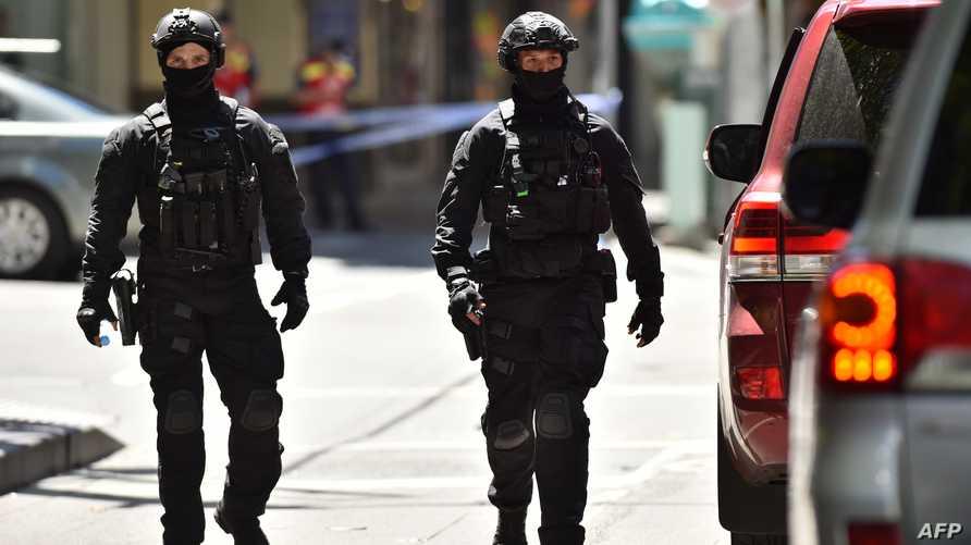 عنصران من الشرطة الأسترالية- أرشيف