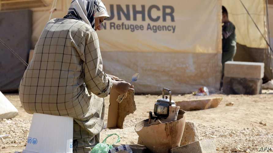 لاجئة سورية في الأردن