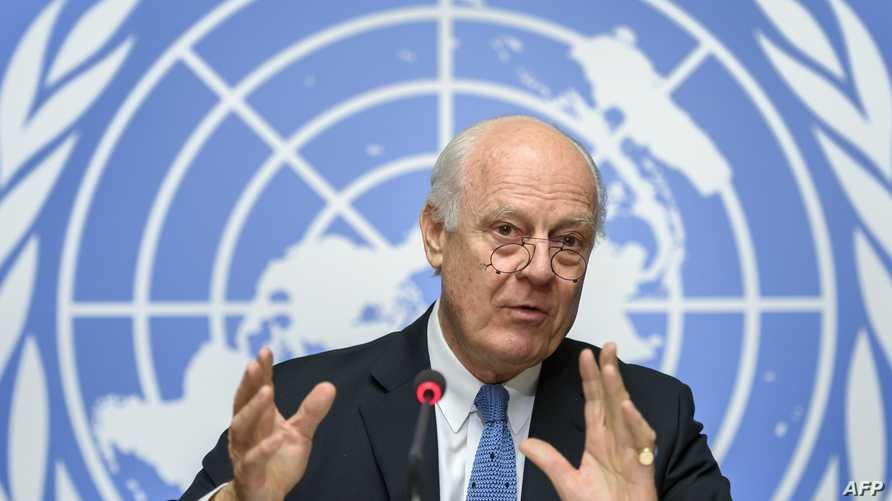 مبعوث الأمم المتحدة إلى سورية ستافان دي ميستورا