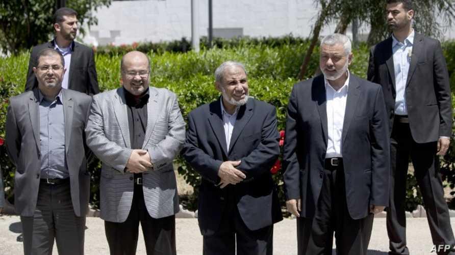 مسؤولو حماس في غزة-أرشيف