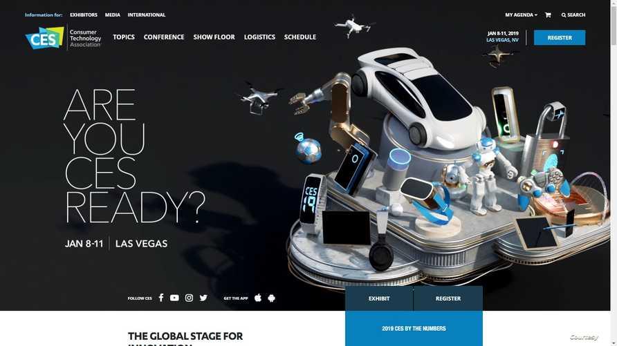 معرض CES يعد من الأضخم في عالم التقنية