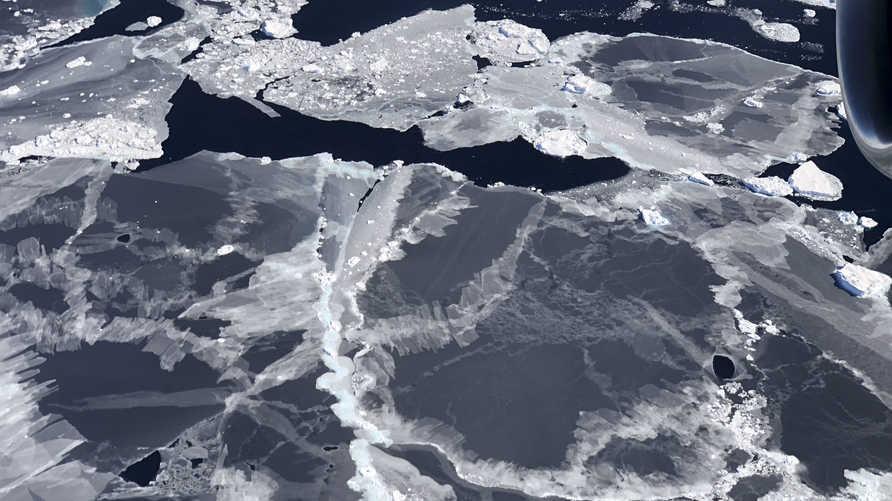 صور من ناسا لجليد بحر إنتاراكتيكا