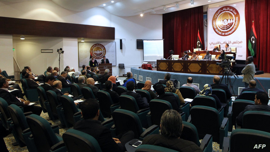 البرلمان الليبي المنعقد في طبرق يقطع العلاقات مع تركيا