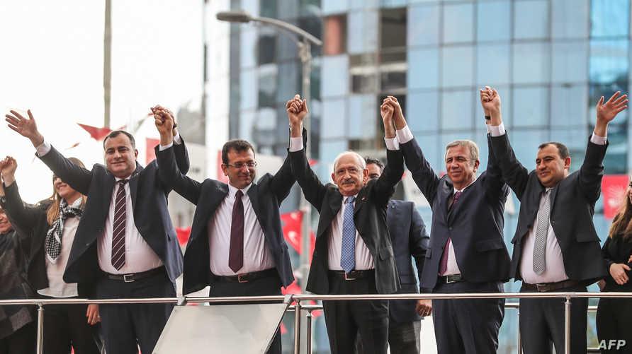قيادات من حزب الشعب الجمهوري في اسطنبول