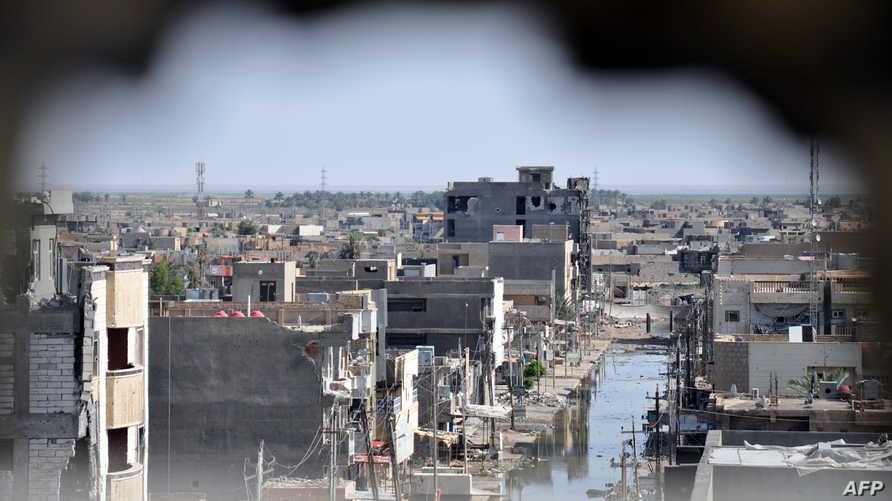 منظر عام لمدينة الرمادي