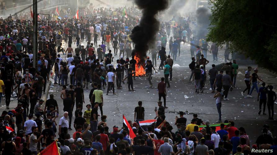 اتساع رقعة التظاهرات في العراق