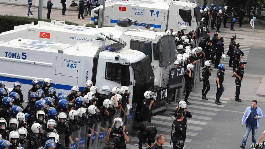 إجراءات أمنية في أنقرة بعد الهجوم