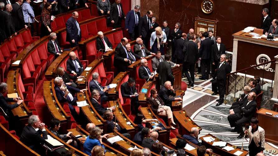 جانب من جلسة سابقة للبرلمان الفرنسي
