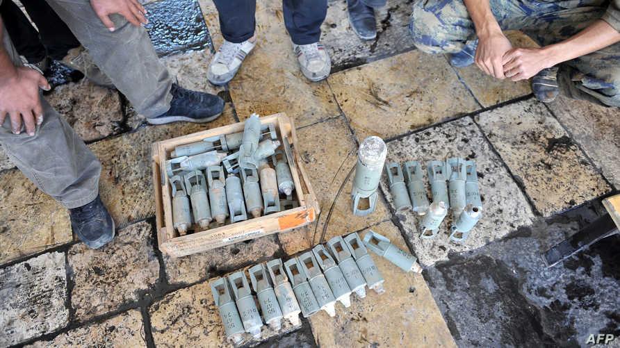قنابل عنقودية -أرشيف
