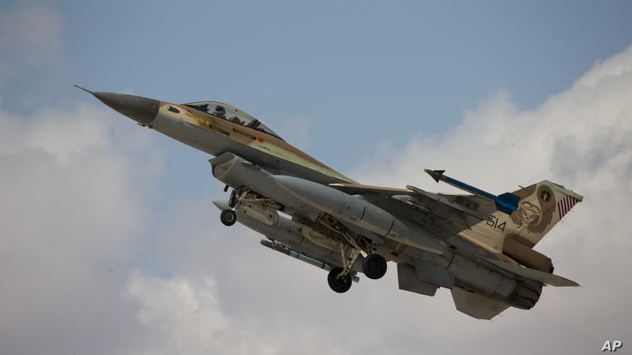 طائرة إسرائيلية من طراز أف 16