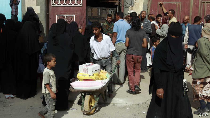 أزمة إنسانية في اليمن