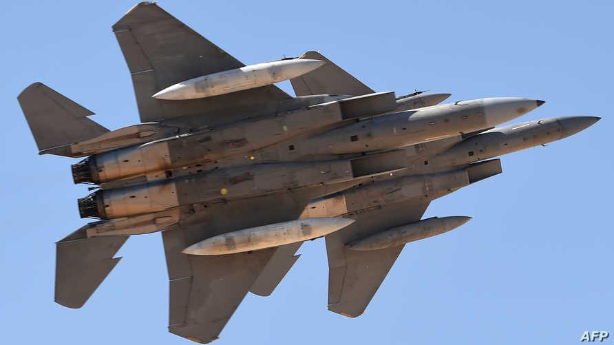 """عرض مقاتلات أميركية من طراز """"إف-15 أس آيه"""" في السعودية"""