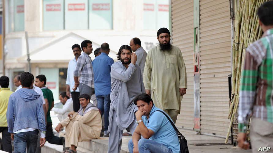عمال أجانب في السعودية-أرشيف