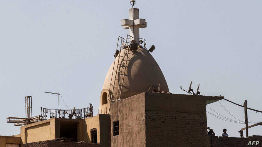 كنيسة قبطية في مصر - أرشيف