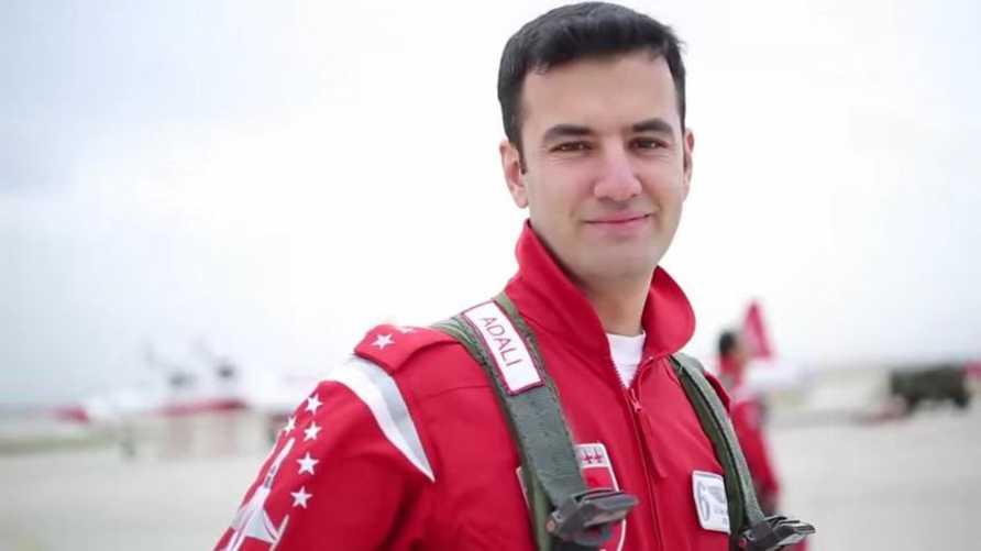 الطيار الحربي علي أونور أدالي