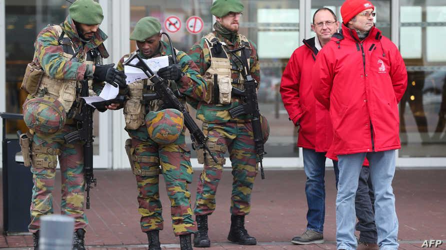 استنفار أمني في بلجيكا